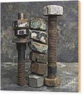 Equipment Wood Print by Bernard Jaubert