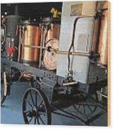 Equipment Displayed In Lavender Museum Wood Print