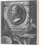 Eqves Io. Bapt. Piranesivs Venetvs Architectvs Wood Print