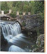 Eramosa River Rockwood On Wood Print