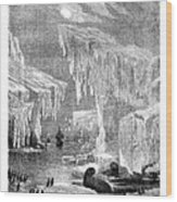 Erebus And Terror In The Ice 1866 Wood Print