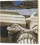 Erechtheion 8 Wood Print