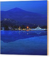 Eretria By Sea Wood Print