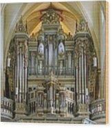 Erfurt Pipe Organ Wood Print