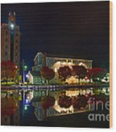 Erie Canal In Pittsford Ny Wood Print