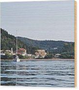 Erikousa Shines Wood Print