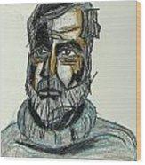 Ernest Hemingway 1 Wood Print