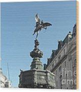 Eros At Piccadilly Wood Print