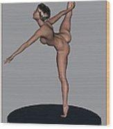 erotic acrobatics 10EA 1 Wood Print