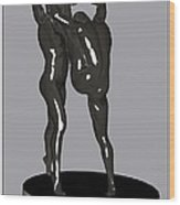 erotic acrobatics 1EA 1 Wood Print