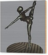 erotic acrobatics 9EA 1 Wood Print