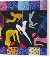 Erotic Matisses - Limited Edition 2 Of 8 Wood Print