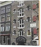 Erotic Museum Amsterdam Wood Print