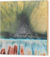 Eruption 1 Wood Print