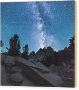 Eruption Of The Milky Way Wood Print