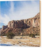 Escalante Canyon Wood Print