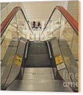 Escalator 553h Wood Print