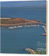 Escobedo Bay Wood Print