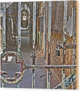 Esp Hospital Gate Wood Print