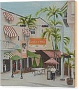 Espanola Way South Beach Florida Wood Print