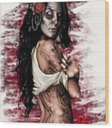 Esperanza Viva Wood Print