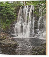 Ess-na-laragh - Glenariff Wood Print
