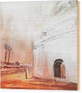 Essaouira Town Wood Print