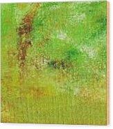 Essay Star Green Wood Print