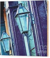 Essence Of New Orleans Wood Print