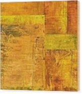 Essence Of Yellow Wood Print