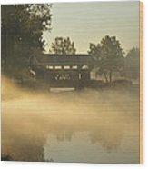 Essenhaus Covered Bridge Wood Print