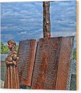Essex County N J 9-11 Memorial 4 Wood Print