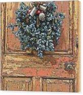 Essex Door Wood Print
