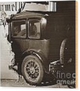 Essex Super Six In Carmel Dairy 1933 Wood Print