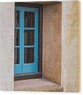 Estate Window Wood Print