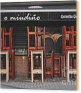 Estrella Galicia Wood Print