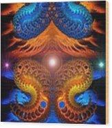 Eternal Angels  Wood Print