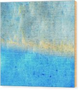 Eternal Blue - Blue Abstract Art By Sharon Cummings Wood Print