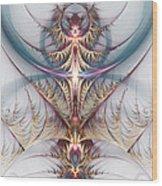 Eternal Flame Wood Print