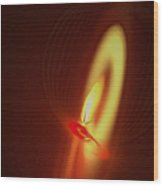 Eternal Flame Wood Print