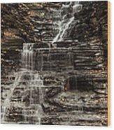 Eternal Flame Waterfalls Wood Print