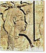 Eternal Isis Wood Print