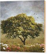 Eternal Spring Wood Print