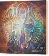 Eternal Wings Wood Print