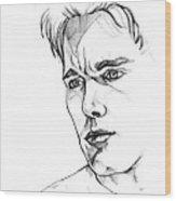 Ethan Hawke Wood Print