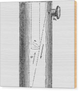 Ether Inhaler, 1847 Wood Print