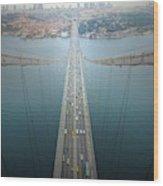 Ethereal Highways Wood Print