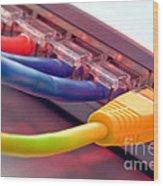 Ethernet Wood Print
