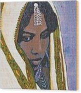 Ethiopian Woman Wood Print