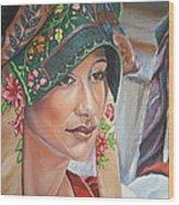 Ethnicity Wood Print